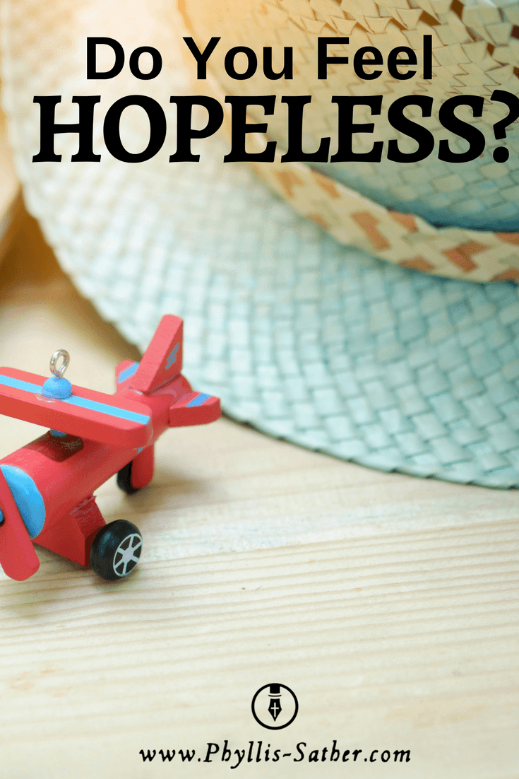 There is no feeling quite like hopelessness. It's the end. There is nothing left.