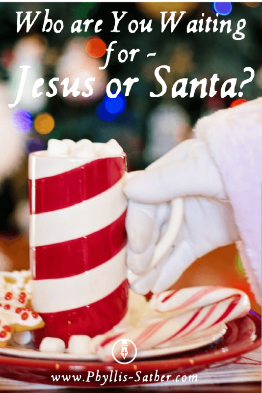 Who are You Waiting for - Jesus or Santa