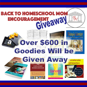 Back to Homeschool Giveaway