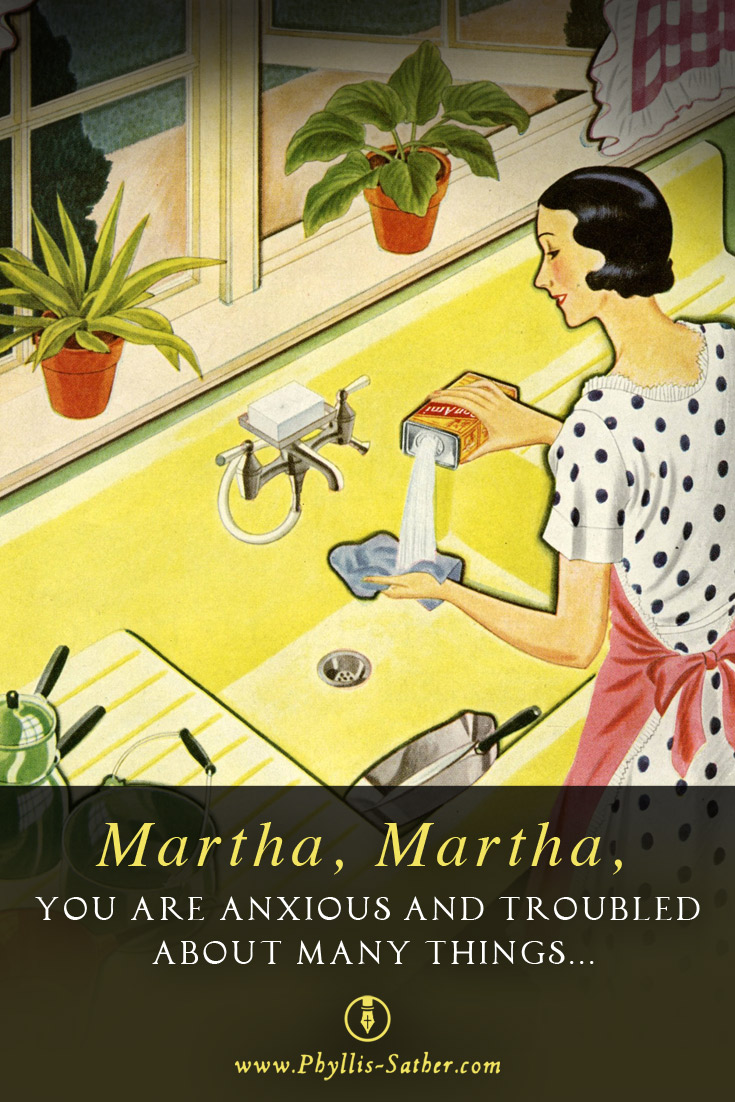 Does It Work To Be A Mary If You Really Are A Martha