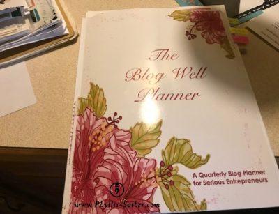 Blog Well Planner