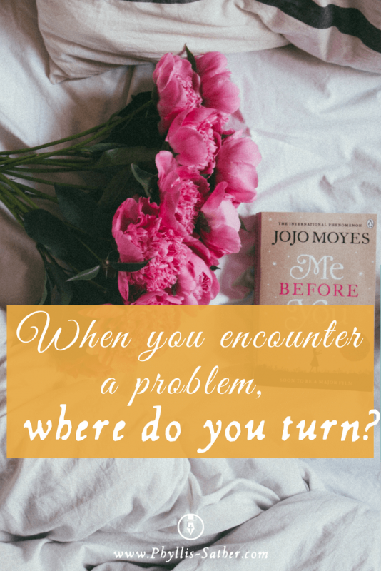 When you encounter a problem, where do you turn? Scripture tells us that we are to turn to God in the day of trouble.  We are to go to Him first for He is the only one that knows that answer! #scriptures #homeschool