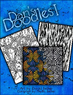 Dan's Doodles coloring book