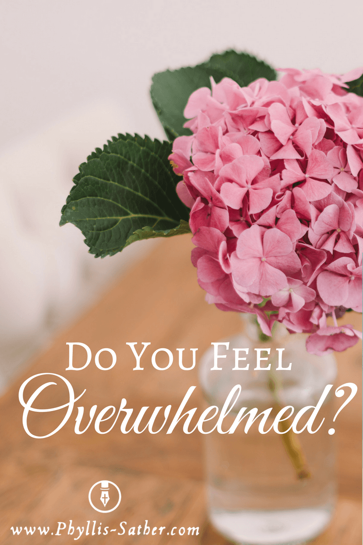 Do You Feel Overwhelmed? Some simple things I do to handle the stress, find out here!