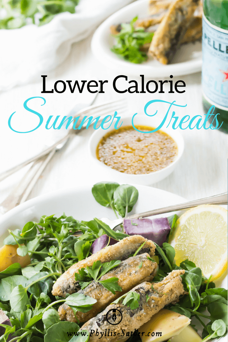 Lower Calorie Summer Treats