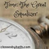 Time the Great Equalizer