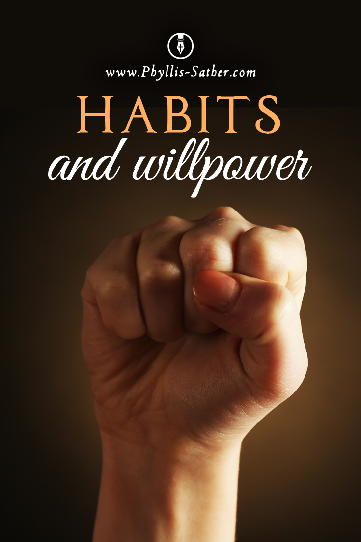 Habits and willpower