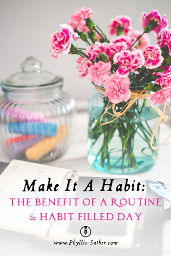 The Benefit of a Routine