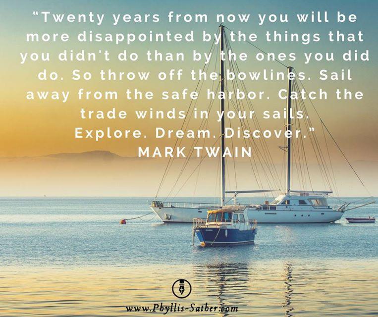 Mark Twain commitment Quote