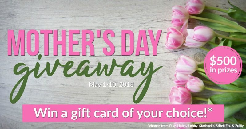 Mother's Day Giveaway 2018 FB