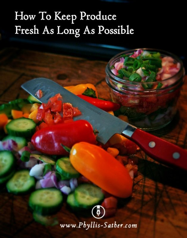 How To Keep Produce Fresh As Long As Possible