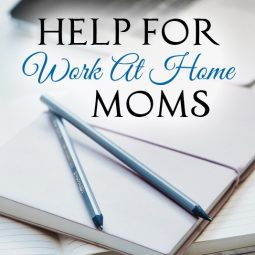 Help For Work At Home Moms