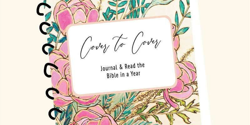 Cover of Bible Journal